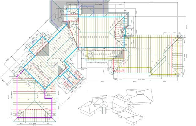 Design truss technologies for Truss layout plan